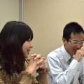 塩田宏美さん(左)と福田耕さん