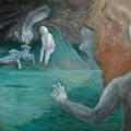 本木健『韜晦』油彩、130.3×162㎝、1999年