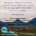 「Yes Scotland eco」by Tobias Feltus http://www.flickr.com/photos/tobiasfeltus/10744649915/