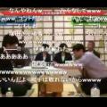 引き分け成立直前のニコニコ生放送中継画面