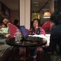 写真:左から要氏、青山氏、荻上氏