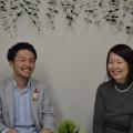 (左)清輔氏、(右)赤石氏