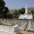 カンディール山にあるPKKゲリラの墓地:2015年6月撮影。この墓地は2017年、トルコの空爆によって破壊された。