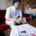 子ども福島ネットの情報誌「たんがら」編集を担当する本田さん