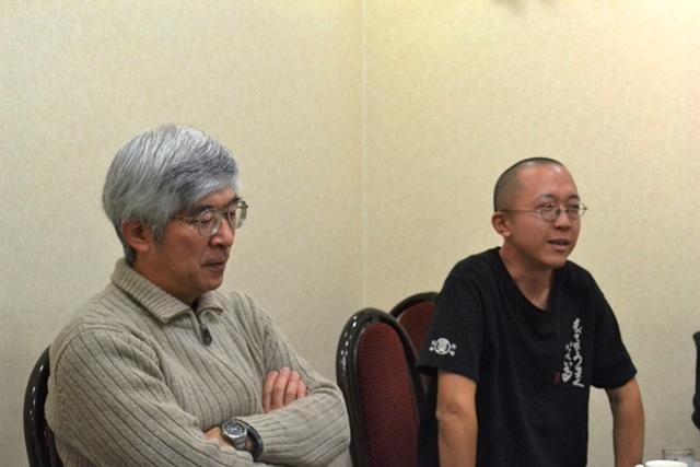 八下田好一さん(51歳・左)と古口正康さん(38歳)