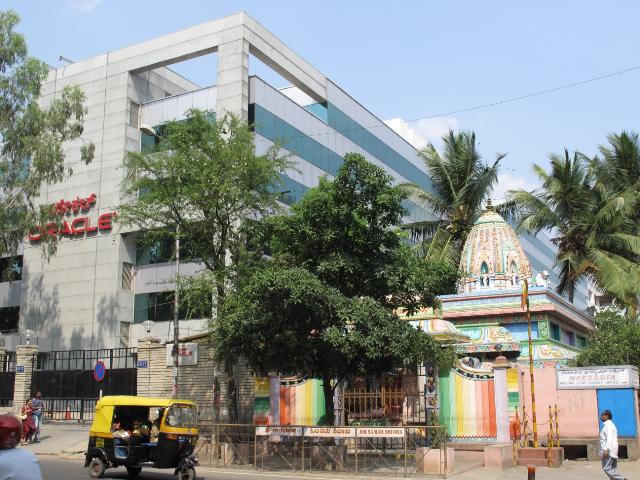 バンガロール市内のIT企業