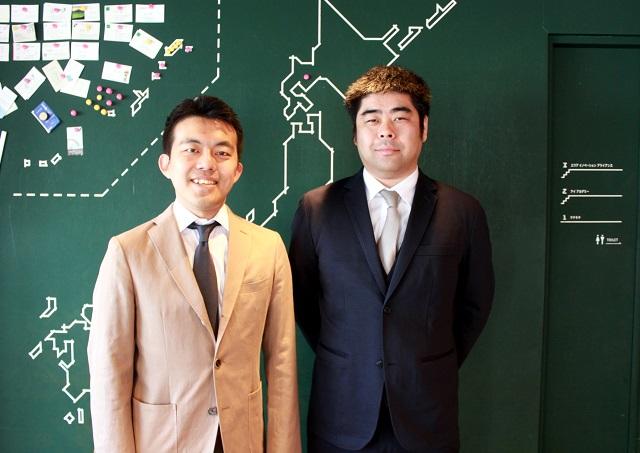 (写真:左から木下氏・木曽氏)