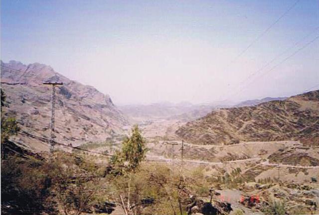 パキスタン・アフガニスタン国境付近