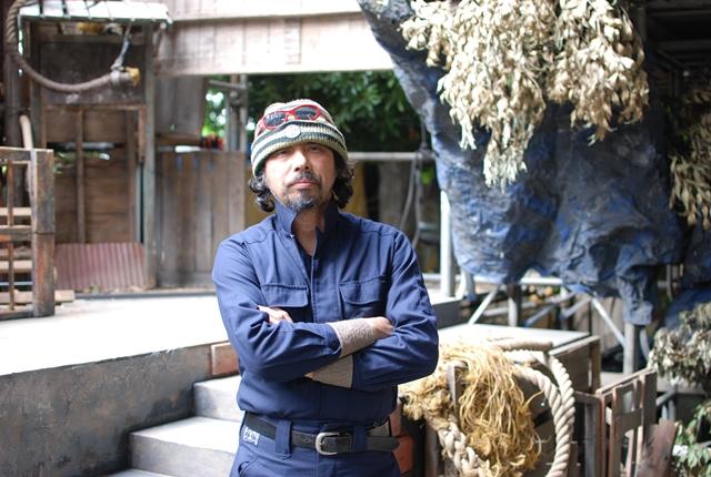 水族館劇場座付き作者、桃山邑さん。1958年生まれ。