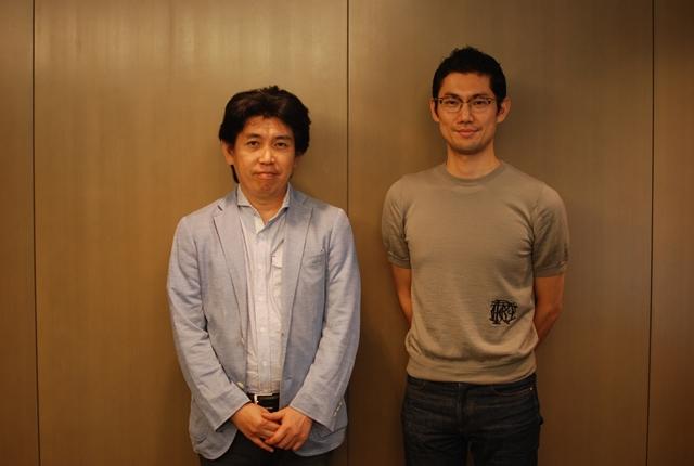 森山直人さん(左)と、橋本裕介さん。