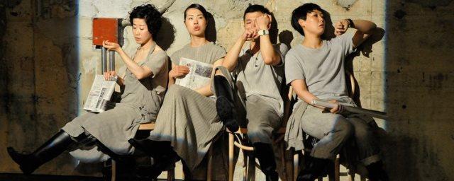 『CHITENの近未来語』2013年 アンダースローのオープニング作品 撮影:松本久木