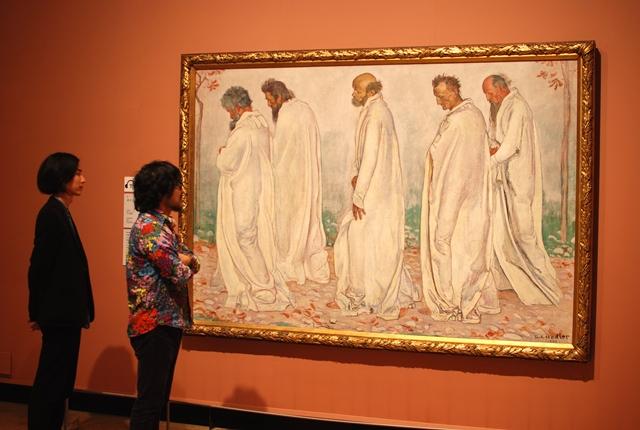 《オイリュトミー》は1895年に描かれた作品。ベルン美術館に所蔵されている。