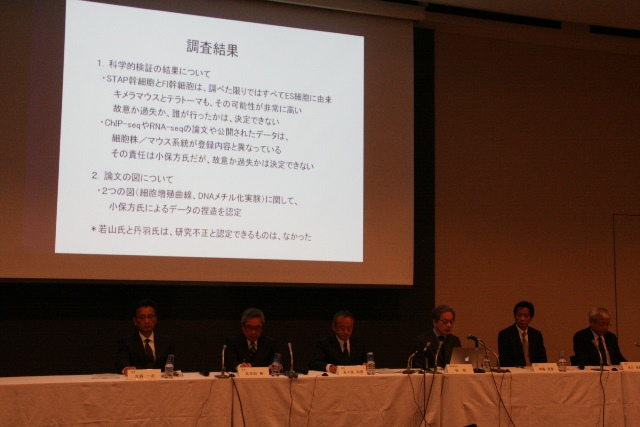 第二次調査委員会の会見(14.12.26)