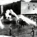 ワーナー・ブラザース撮影所での衝突。1945年10月。対日戦勝利のわずか二か月後。
