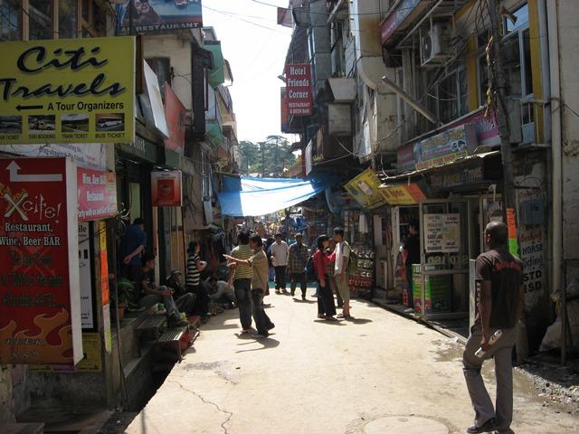 町の中心部マクロード・ガンジ