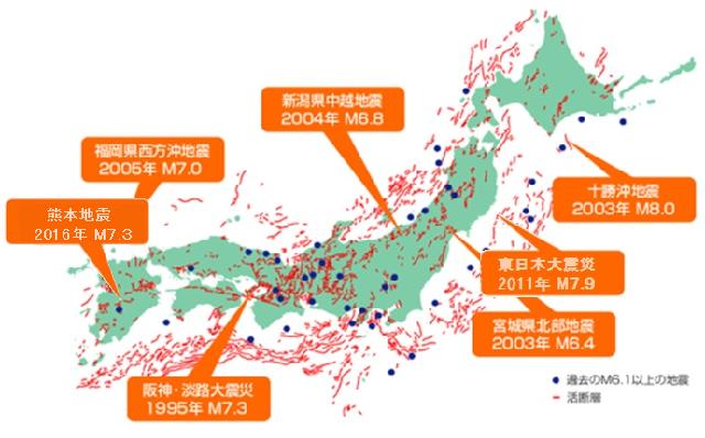 活 断層 マップ
