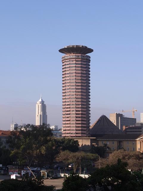 TICADの開催されたナイロビのケニヤッタ国立コンベンションセンター