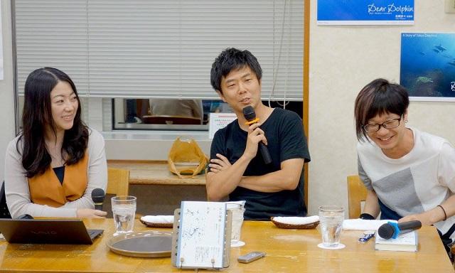 左から富永氏、阿部氏、鈴木氏