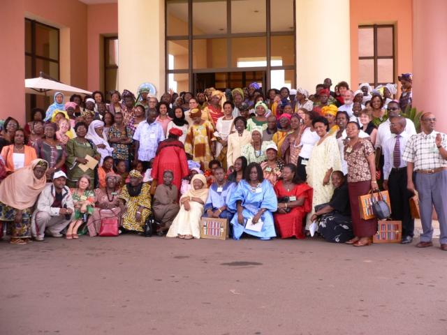 2005年IAC総会での集合写真