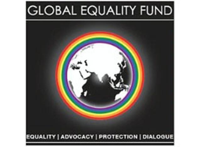 「グローバル平等基金」のロゴマーク
