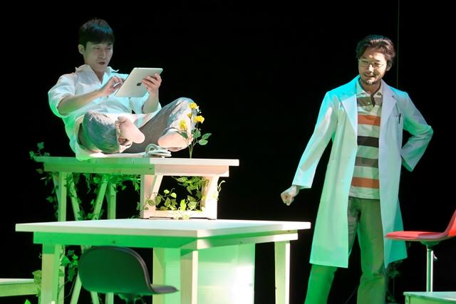 「ファーム」より奥田洋平(左)と古屋隆太 撮影:青木司