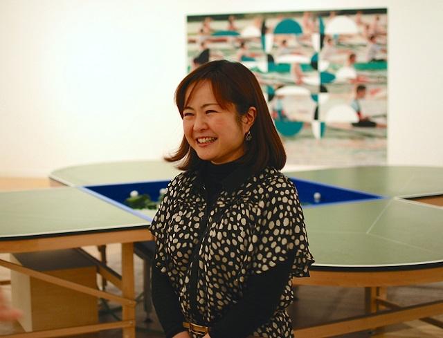 東京都現代美術館学芸員 西川美穂子さん
