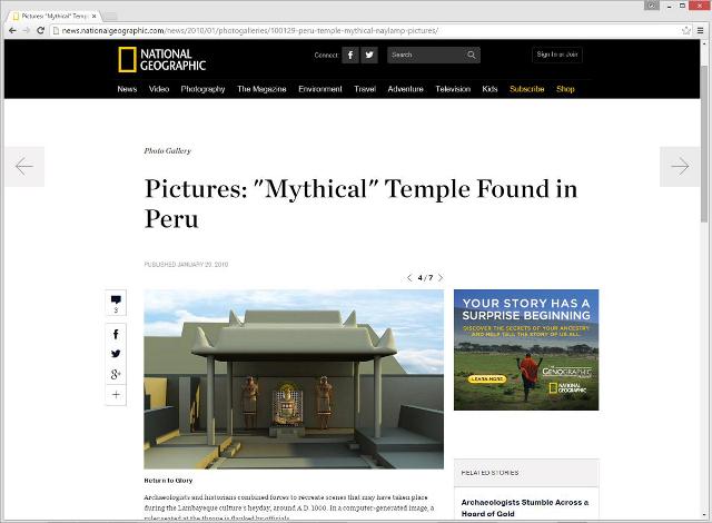 ナショナル・ジオグラフィックによる報道