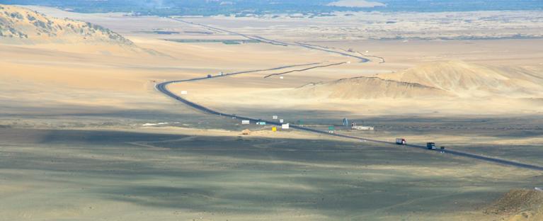 ペルーの海岸地域