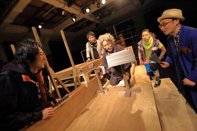 「黒塚」舞台写真 撮影:清水俊洋
