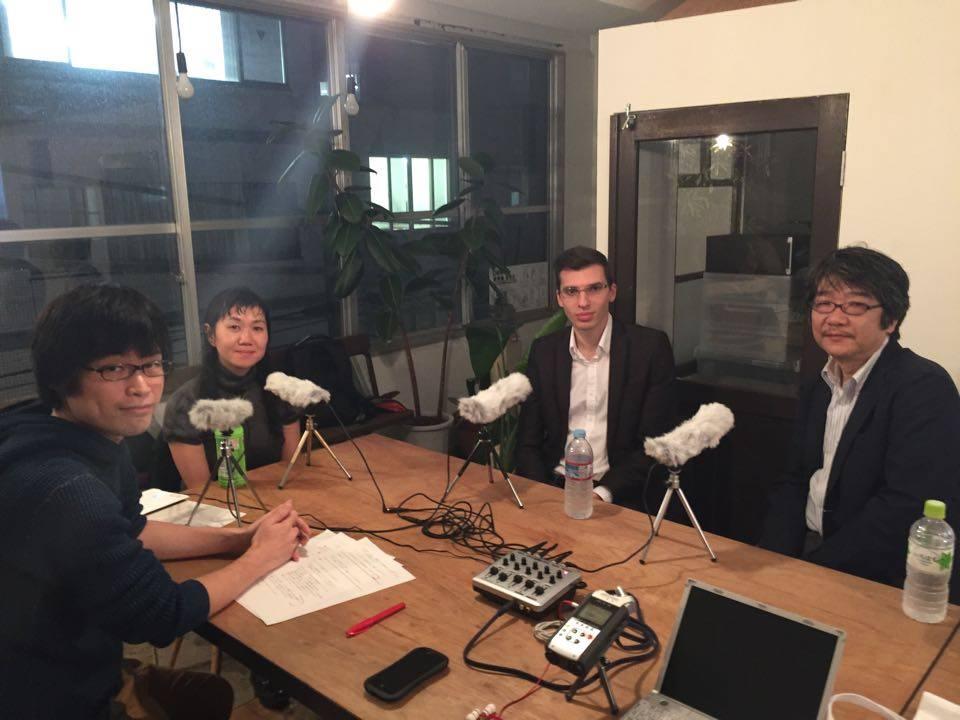 (左から)荻上氏、角田氏、ヤスミンコ氏、千田氏