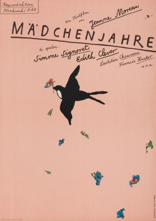 『七人の侍』(1954年/日本/黒澤明監督) ポスター:ハンス・ヒルマン(1962年) ドイツ映画研究所所蔵