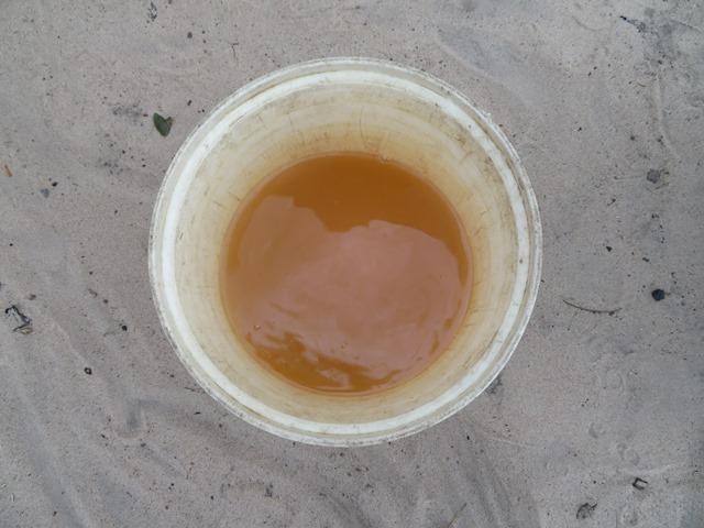 再定住地の飲み水